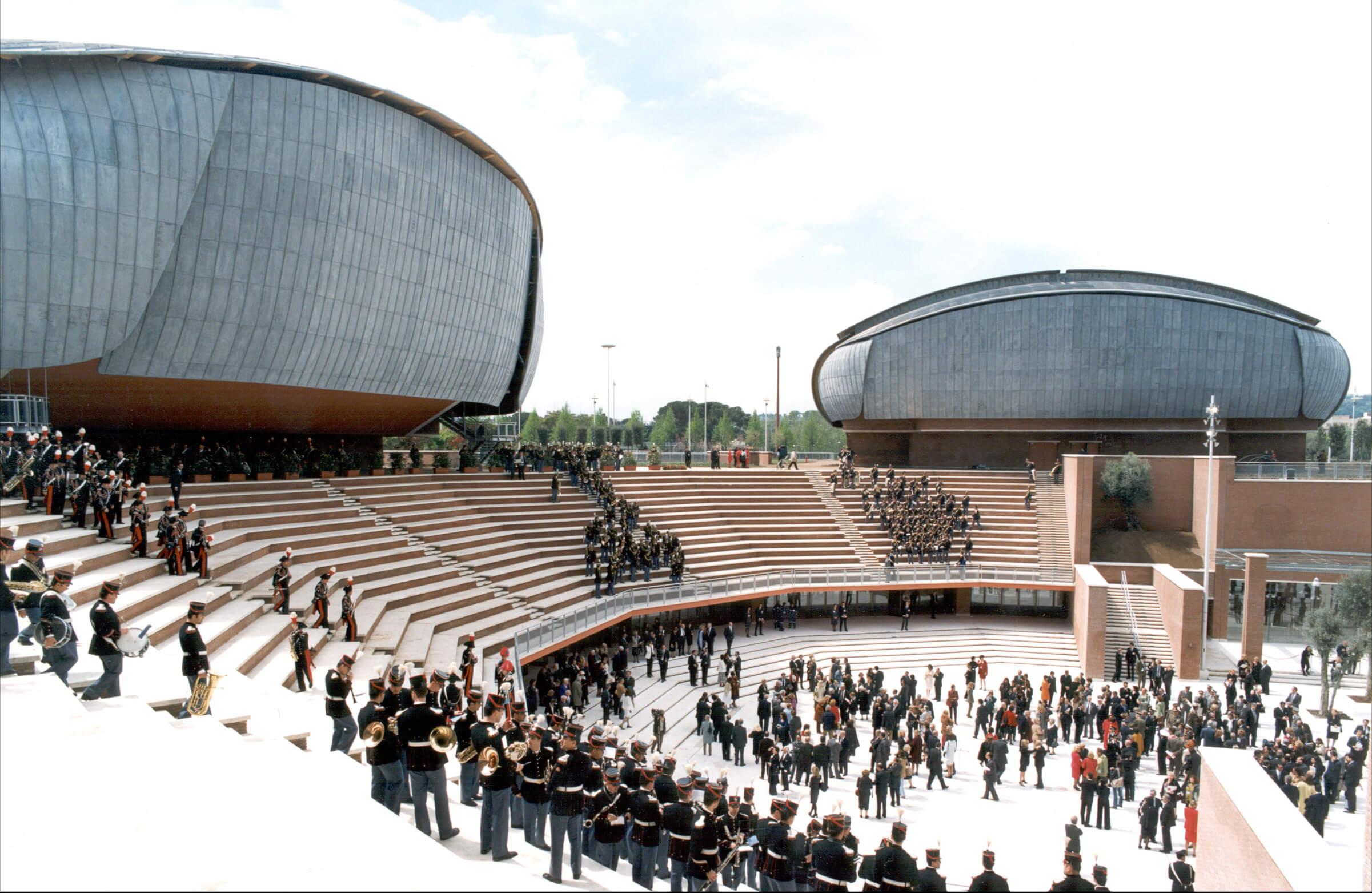 Auditorium roma ali parquets for Progetti di renzo piano